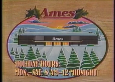 Ames Christmas 1989 - YouTube