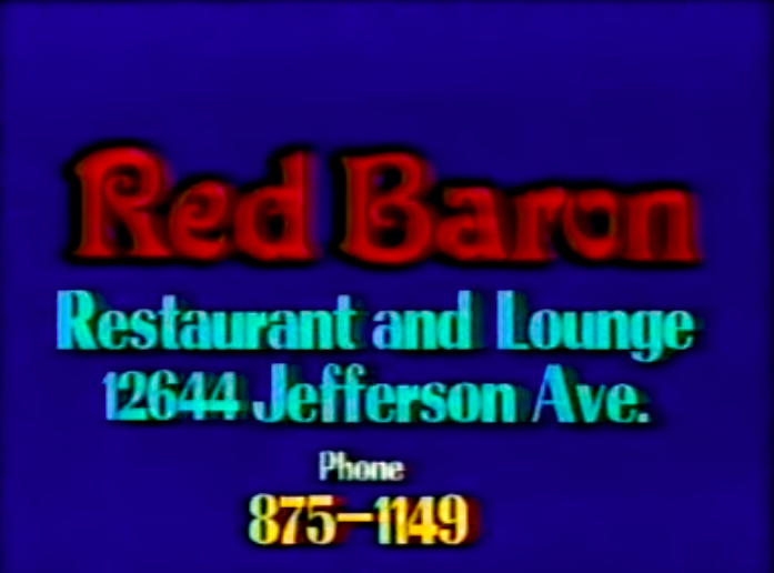 This cheezy commercial for the Red Baron in Newport News (1991) (4/5)
