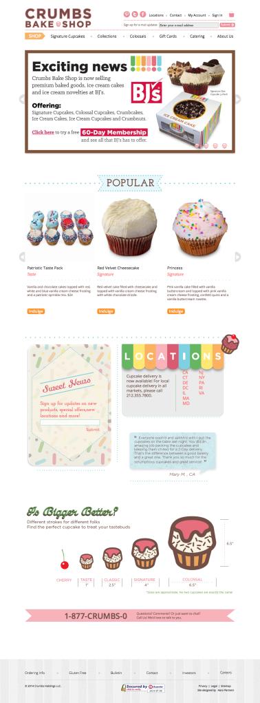 Cupcakes_-_Crumbs_Bake_Shop_-_Gourmet_Cupcakes,_Birthday_Cakes,_Giant_Cupcake_-_2014-07-08_16.40.33